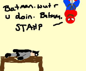 Batman and Plank