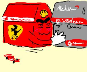 Ferrari House wants a Hug.