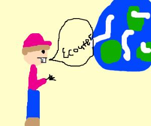 mr. turner tells blue living sphere to listen