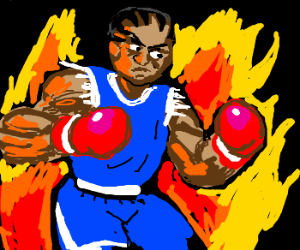 Super Balrog from the inferno