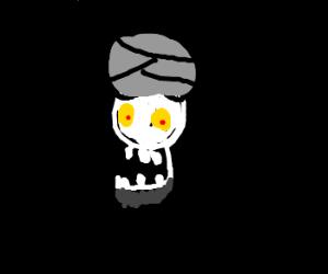 Achmed the dead terrorist. (But drawing sucks)