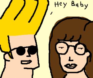 Johnny Bravo meets Daria