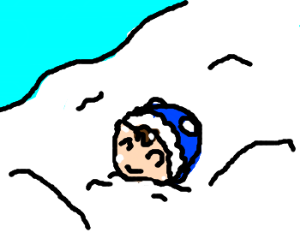 Eskimo Happy to Die Trapped in Avalanche
