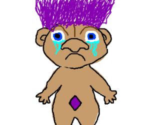Sad troll is sad