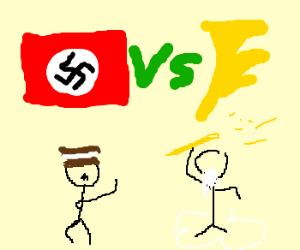 Hitler vs Zeus