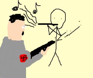 hitler vs wind instruments player