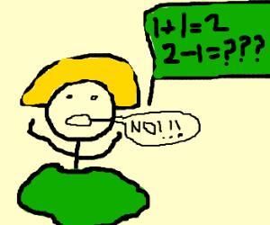 Lady disintegrates while solving math