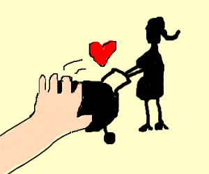 I gave my heart to Mama