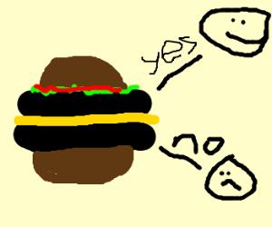 say no to bottom  burgers!