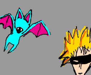 Zu-Batman & Robingeotto fight the baddies