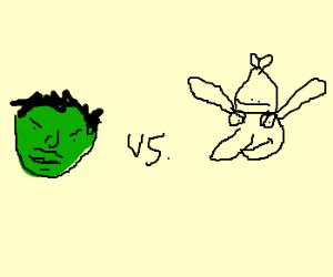 Hulk vs Corvax