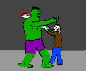 Jason kills the Hulk
