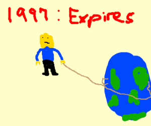 Lego man takes planet gone stale in 1997