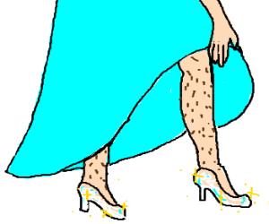 Cinderella is a transvestite!