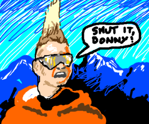 Skier Dude Tells Donny To Shut It