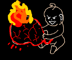 Yeah! My placenta is on fire!!!
