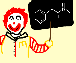 Ronald McDonald lectures on meth
