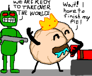 Brain will take over the world, but first, PIE