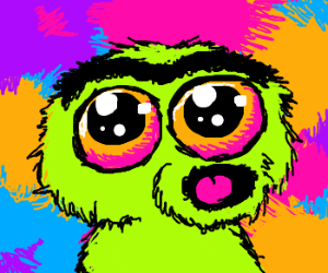 Oscar the Grouch is trippin' out, maaaan...