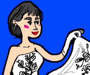 "Audrey Hepburn in ""Sabrina"""