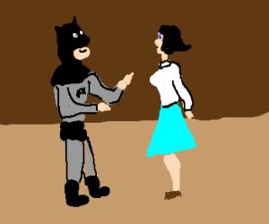 Batman hit on Lois Lane, ditched by Superman