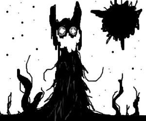 Slender cat-Sauron