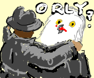 Flasher shows an owl his privates!
