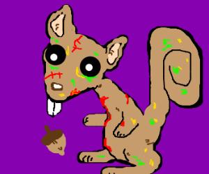 Beware of zombie squirrels!