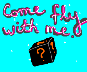 Come fly with my in the mistery black box!