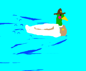 Duck sherrif has gas