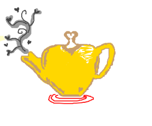 Love Is A Teapot Whistling On The Stove