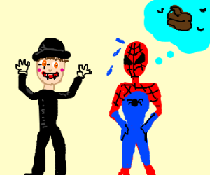 Spiderman Thinks Vampire Mimes Suck