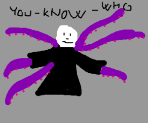 Voldemort with tentacles