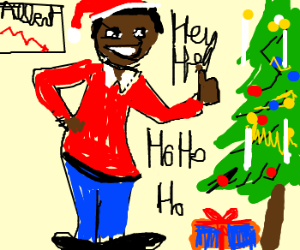 Fat Albert lost weight and loves Christmas
