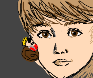 Duke Nukem slugs Justin Bieber in the FACE.