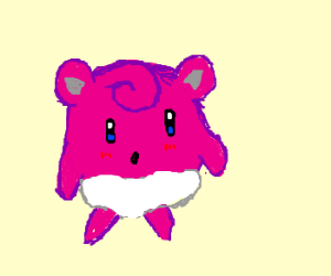 Jigglypuff and Kirby have a baby.