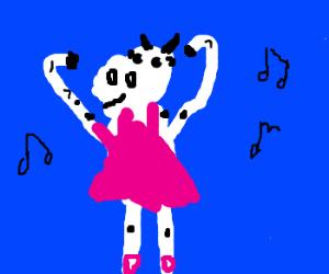 Cow Ballerina