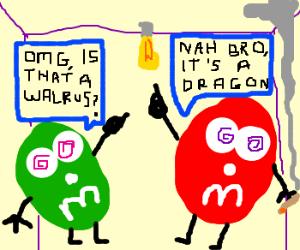 High M&M's
