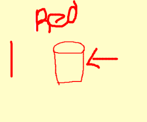 Red Solo cup.