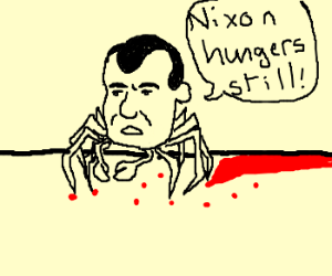 Crab Nixon is still Hungry