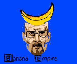 Walter White loves his new banana hat