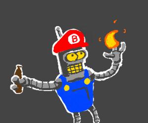 Bender meets Mario