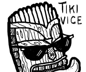 Tiki god of cool sunglasses.