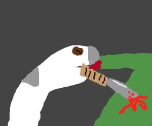 Sock puppet murderer
