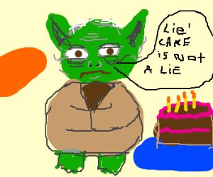 'Lie' cake is not a lie