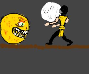 Pacman in Mortal Kombat
