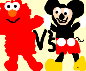 Sesame street vs. Disney