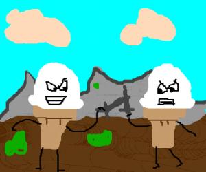 Ice Cream Cone Duel