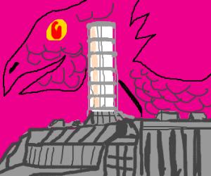 Chernobyl dragon