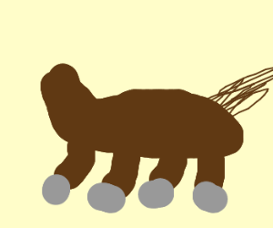 Horse with no head